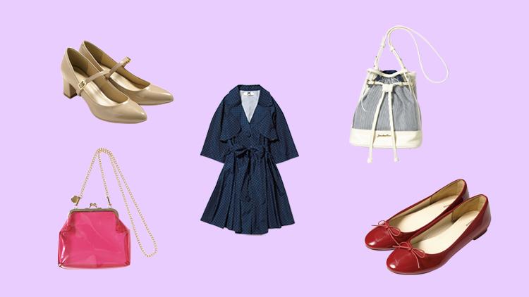 雨の日の靴、バッグ、コートはコレがおすすめ♡優秀レイングッズ4選