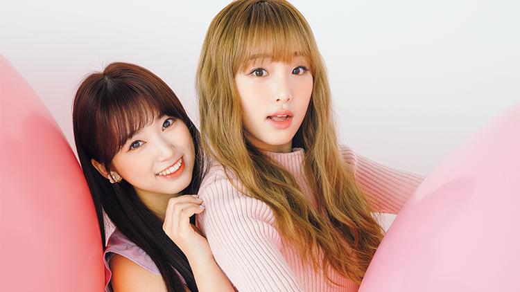 【アイズワン】矢吹奈子&チェ・イェナが可愛すぎると話題♡