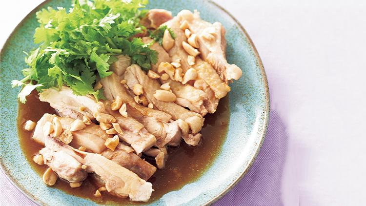 【ダイエットメニュー】レンジでチン!正月太りに効く肉食やせメニュー「よだれ鶏」