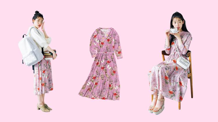 【脱マンネリ】こんな着方があったなんて!♡花柄ワンピ-スの着回しコーデ3選