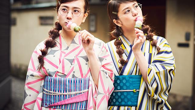【花火やお祭り、デートに浴衣を着たい♥】AI&HARU・涼しげ最新浴衣コレクション!