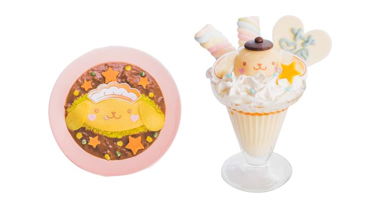 「ポムポムプリン」と「@ほぉ〜むカフェ」のコラボメイドカフェが可愛すぎると話題♡