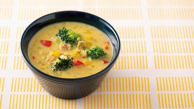 【おかずみそ汁ダイエット】甘みそ豆乳スープの簡単レシピ!飲むだけで痩せ体質に♡