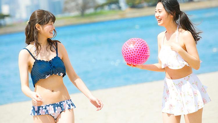 夏のドキドキ♡イベントモテコーデ【ビーチには着替えが簡単なリゾート風コーデ】