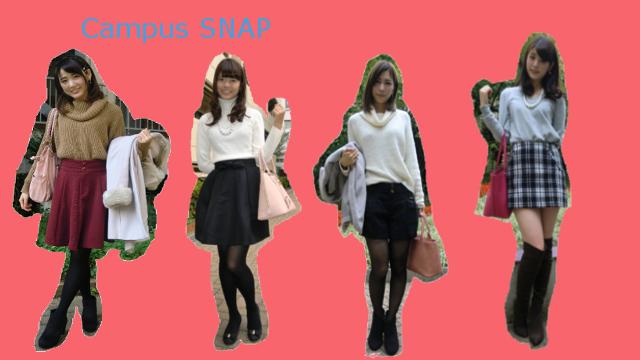 プチプラニットに注目!キャンパスガールのトレンドSNAP【日本女子大学】