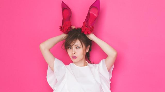 可愛すぎ!白石麻衣×PINKずくしの春ファッション