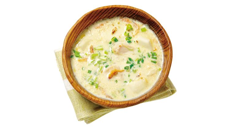 【サラダチキンで作る豆乳スープ】が超簡単なのに、美容効果がスゴい!