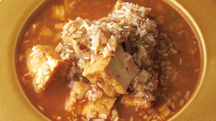 低糖質なのに満足感たっぷり♡やせ体質へと導く『マーボー風べジスープ』レシピ