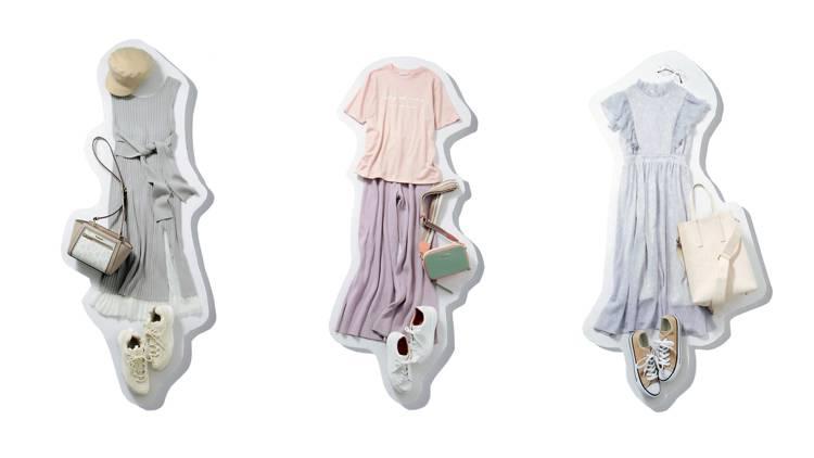 スニーカーコーデのおしゃれ度爆あがり♡「ニュアンスカラー」を取り入れてダル着を卒業!