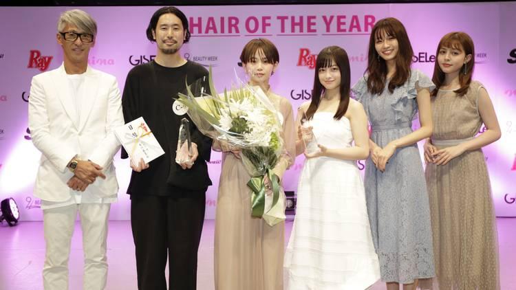 橋本環奈ちゃん、岡崎紗絵、加藤ナナ、松元絵里花も参加♡「Beauty Week HAIR OF THE YEAR 4」の受賞者発表!
