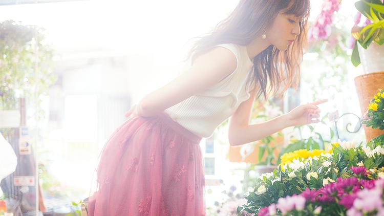 鈴木愛理が着回す♡大人可愛いふんわりスカートのコーディネート3選