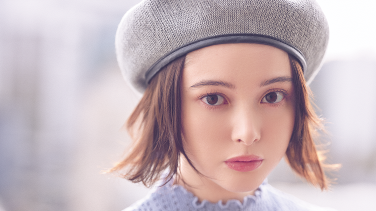 憧れは玉城ティナちゃん♡ベレー帽が簡単にあか抜ける【ボブアレンジ】