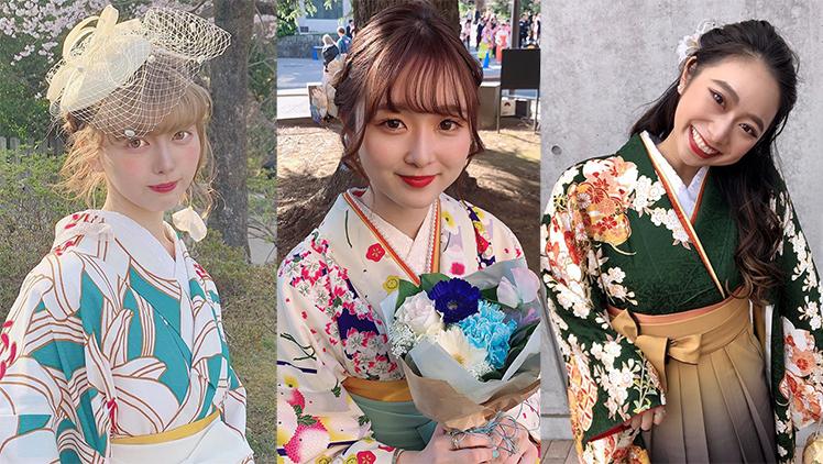 【2020年度 卒業式】美人すぎ!全国の大学で見つけた袴美女11選♡