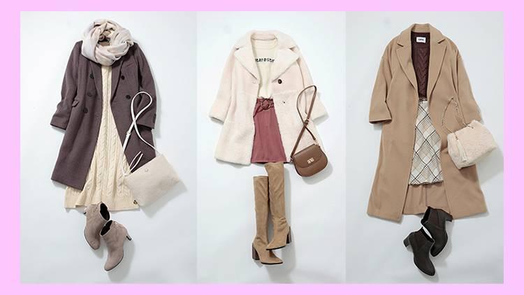 【Ray公式通販】スタイリストおすすめ《U1万円台のコート》&着こなしテク8選