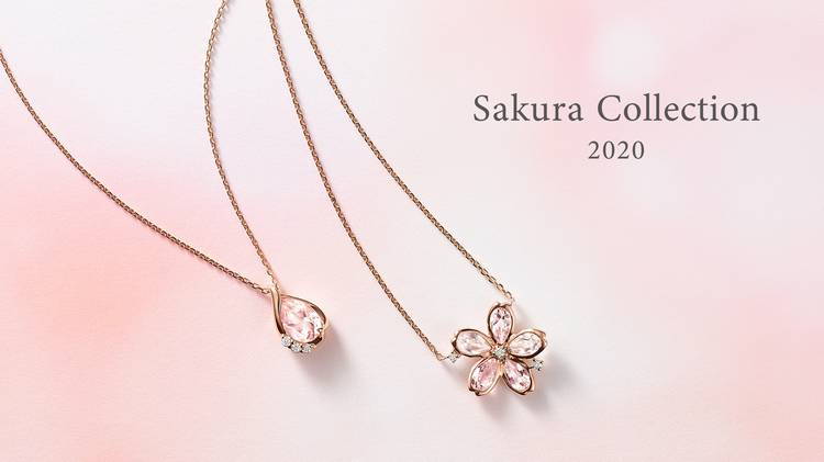 4℃の桜色ジュエリーが本日発売!「恋が叶う」噂のコレクションを大公開♡