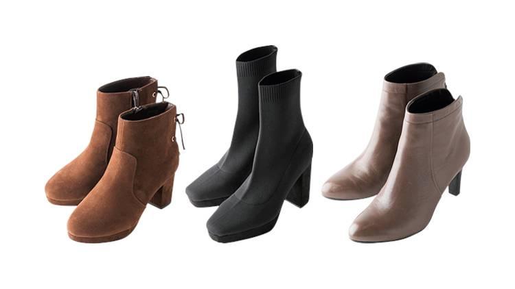 美脚見え「ショートブーツ」はどれ?人気5ブランドを履き比べ!