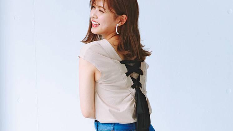 「色っぽい後ろ姿×カジュアルデニム」で男心をわし掴み♡ 楽ちんモテコーデ3選