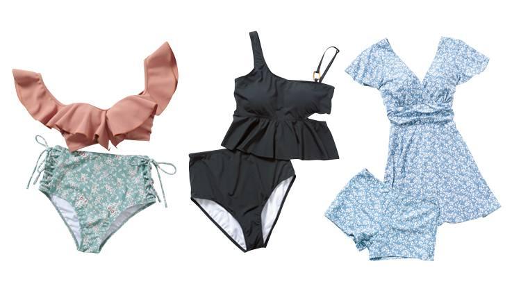 【体型の悩み別】二の腕、お腹、脚…コンプレックスを隠す「水着の選び方」とは?