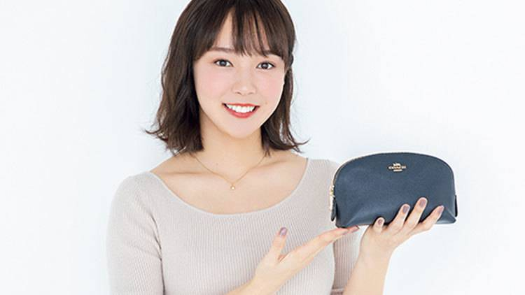 慶應大学の弓道部のマドンナ♡【森千晴】可愛いの秘密が詰まったポーチの中身を大公開