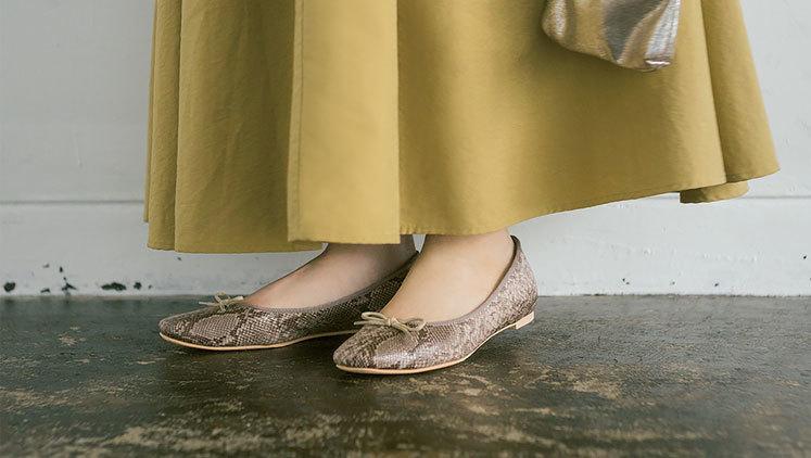 【秋靴トレンド速報】おしゃれ上級者に見える「パイソン柄パンプス」を買うべき♡