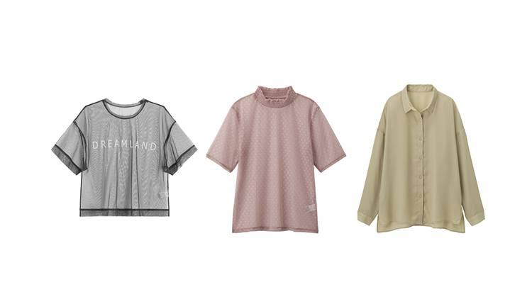 【プチプラデート服】色っぽい透け感で男子ウケ抜群♡ GUのシアーアイテム5選
