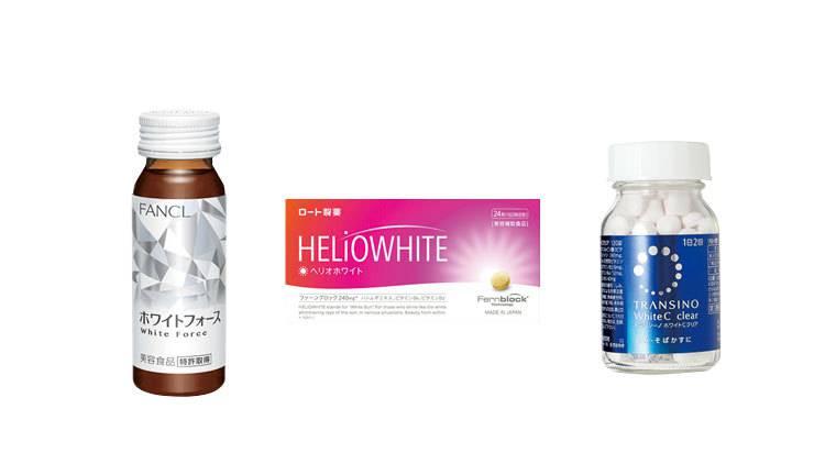 【日焼け対策】身体の内側から透明感肌を作る♡ 飲む美白ケア4選