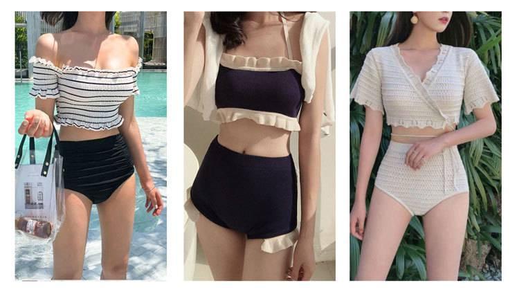 小胸、二の腕、太もも…【コンプレックス別】水着の選び方で気になる体型を可愛く隠す♡