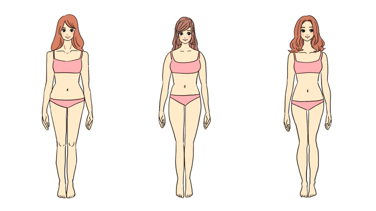 """【骨格診断】自分の体型、把握してる?コーデが一気にあか抜ける""""簡単チェックリスト"""""""