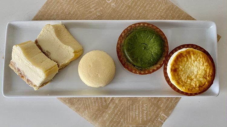 【BAKE】美味しいのはタルトだけじゃなかった!新食感のチーズスフレ&テリーヌを食べ比べてみた♡