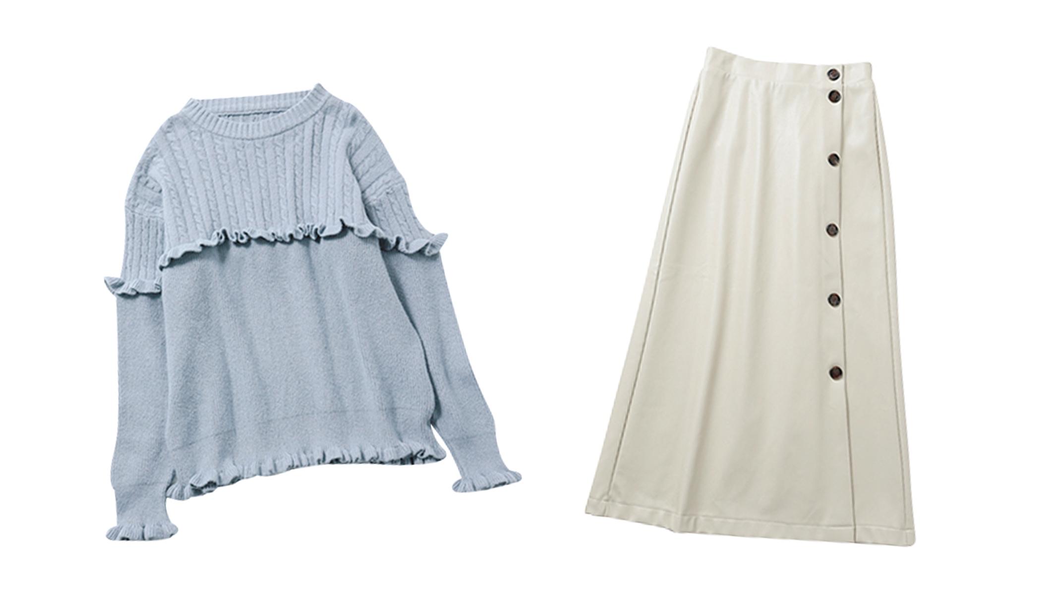 【GRL】6点買っても1万円!プチプラに見えないグレイルの高見え冬服図鑑♡