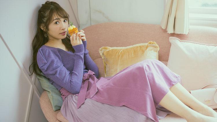 【櫻坂46】渡辺梨加のかわいさ溢れ出す♡ ニット×フレアースカートコーデ3選