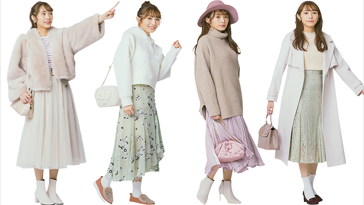 【櫻坂46】フレアスカートでふわっと女子力UP♡ 渡辺梨加の正統派美人コーデ7選