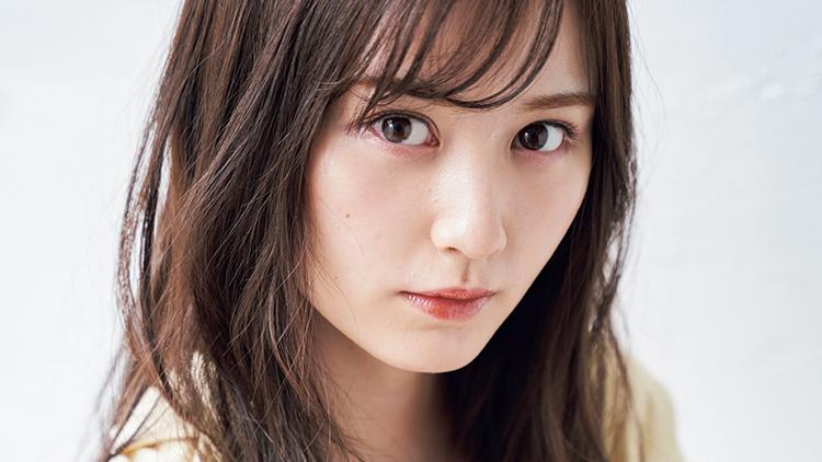 NMB48の圧倒的ビジュアルエース♡ 山本望叶がブラウンメイクで大人っぽ顔に挑戦!
