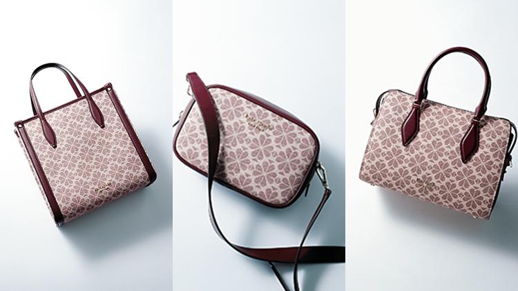【ケイト・スペードニューヨーク】デザイン性も使いやすさも抜群♡ スペードフラワーの新作バッグが話題