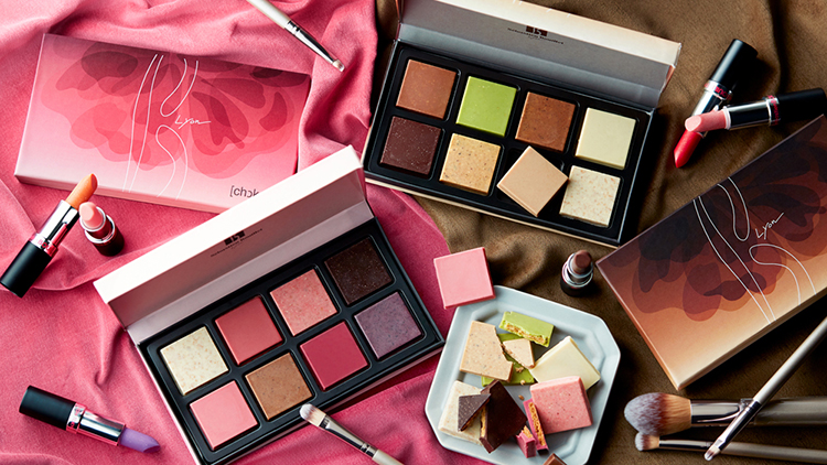 まるでリップ&アイシャドウみたいなショコラが可愛すぎ♡ セバスチャン・ブイエのバレンタインコレクションが話題!