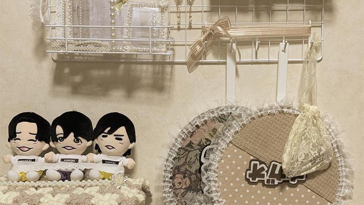 【#ジャニオタ】さんの収納テクがすごい♡ お洒落にグッズを飾るアイデアまとめ