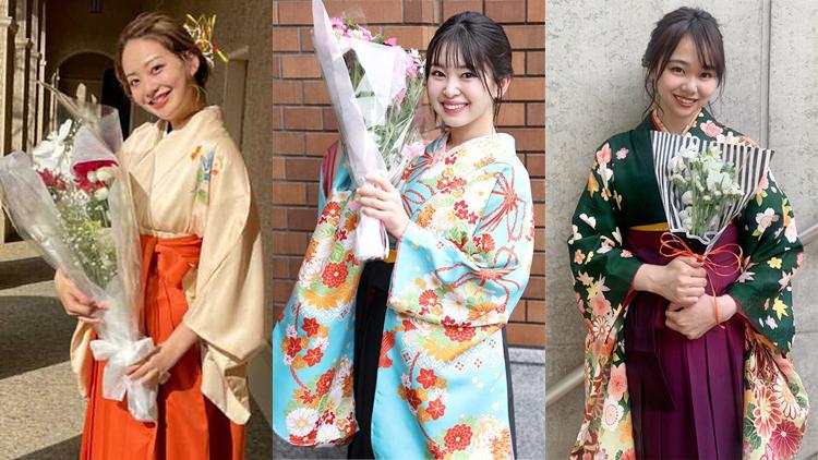 【2021年度 卒業式】関西の大学で見つけた!美しすぎる 袴美女6選♡