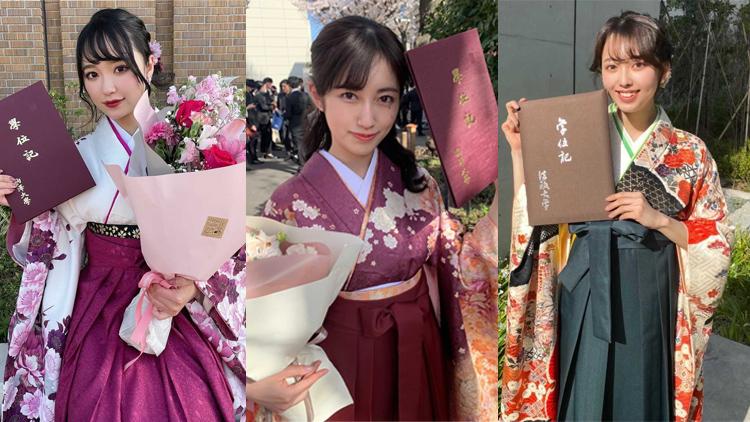 【2021年度関東版】各大学の卒業式で見つけた♡ 美しすぎる「袴美女」7選
