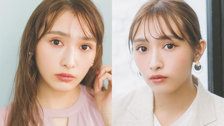 【櫻坂46♡渡辺梨加】マンネリ顔を解消!メイクのバリエを増やす色使いアイデア♡