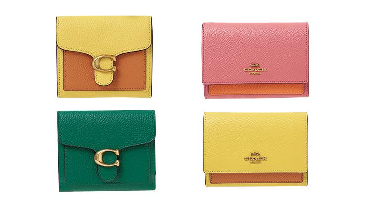 【COACH】憧れブランドで金運アップ♡ この春GETしたい《おしゃれカラー財布》4選