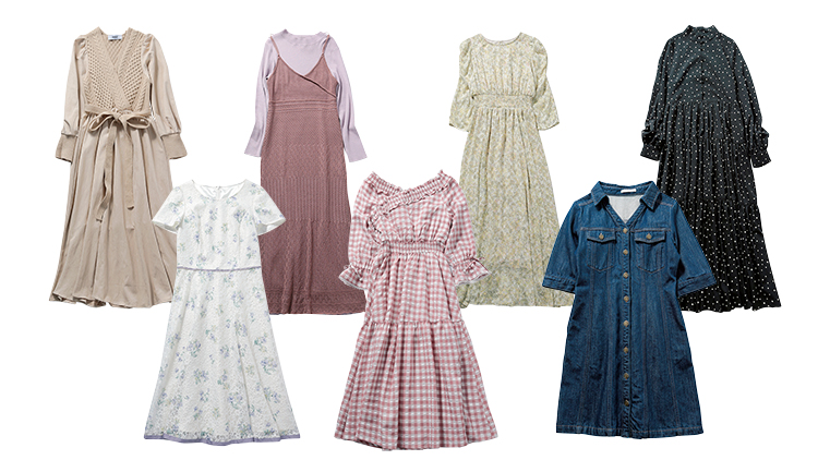【DHOLIC、REDYAZEL…】売り切れ続出♡ 人気ブランドの名品ワンピ7選