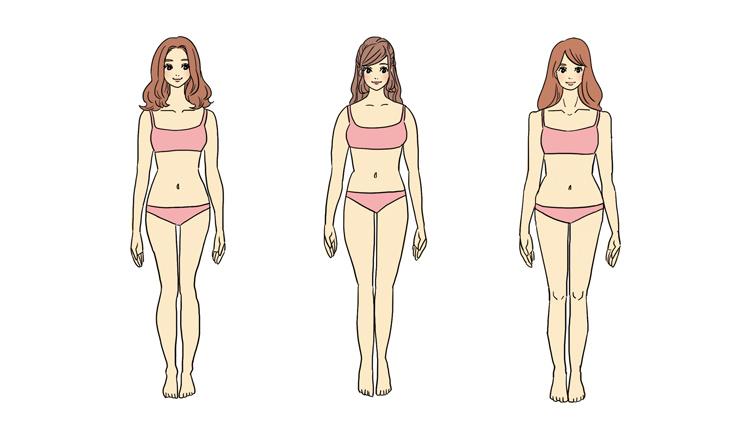 【骨格診断】自分の体型タイプは?あなたに「似合う服」が見つかるチェックリスト