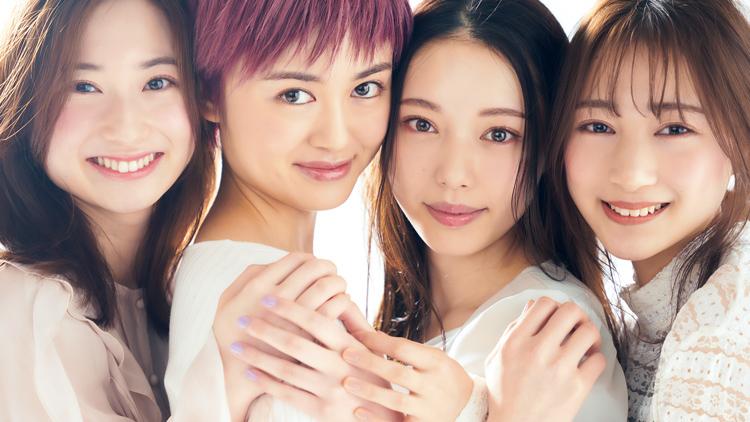 【Ray読者モデル】ミスコン、パリコレ…最強美人女子大生4人の卒業に密着♡