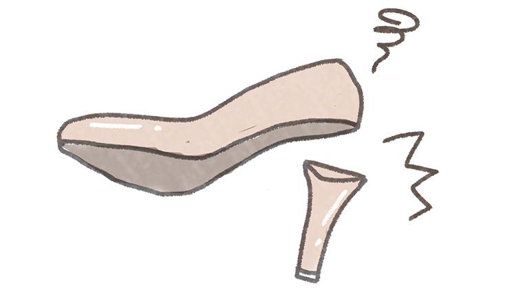 【心理テスト】隠れたエッチ願望がわかる♡このヒールの折れた靴の持ち主は?