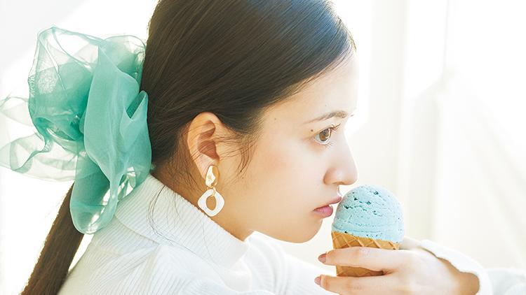 【金川紗耶の甘い春色コーデ日記】春はスキっと爽やか!ミントチョコジェラートな気分♡
