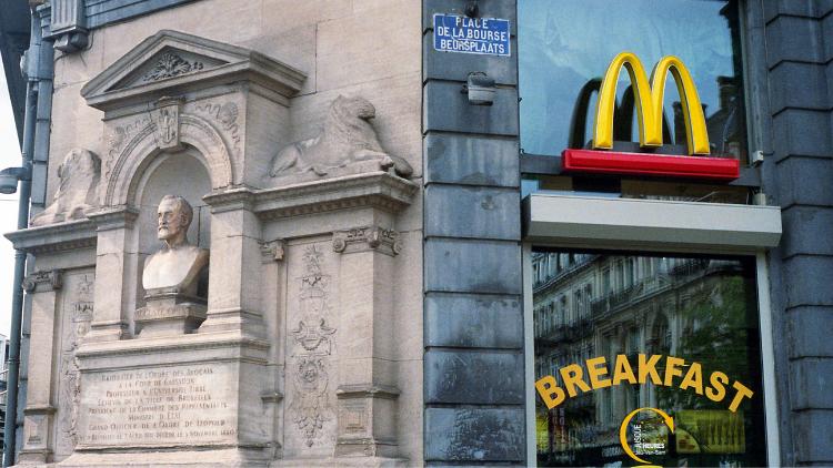 【豆知識クイズ】フランス人はマクドナルドのことをなんと呼ぶ!?