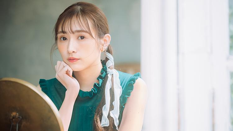 【櫻坂46♡渡辺梨加】ひとつ結びをアップデート!「ヘアリボン」の簡単アレンジテク