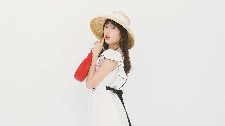 【毎日コーデテク】ストローハットがポイント♡夏のお嬢さん風ワンピコーデ