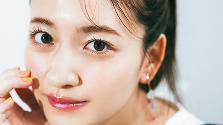 乃木坂46・金川紗耶がお手本♡ ポップで可愛い「夏ヘア&メイク」のコツは?