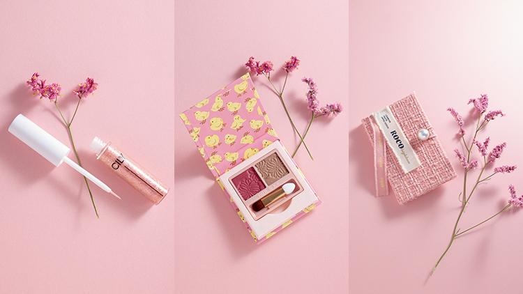 espoir・CILY・ポルジョで発見♡ ピンクが可愛い〈パケ買いアイシャドウ〉3選